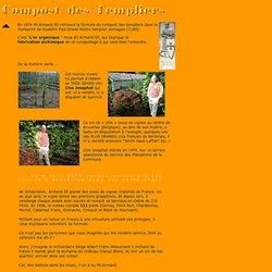 Le compost des templiers très rare recette ou l'alchimie de l'engrais de surface et du compostage de broussaille en humus