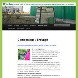 Compostage / Broyage dans le Vendômois