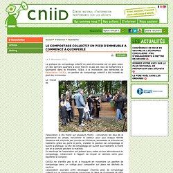 Le compostage collectif en pied d'immeuble a commencé à Quimperlé