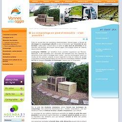Vannes Agglo - Le compostage en immeuble : c'est possible !