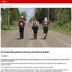Un Compostelle québécois voit le jour dans l'Est du Québec