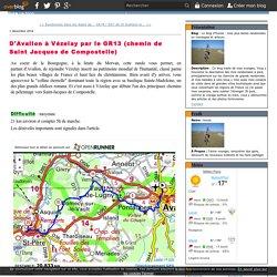 D'Avallon à Vézelay par le GR13 (chemin de Saint Jacques de Compostelle) - Le blog d'Hunza : mes plus belles randonnées en montagne et ailleurs