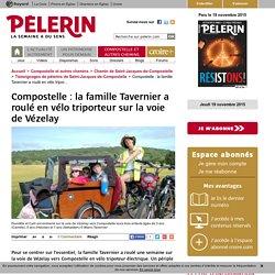 Compostelle : la famille Tavernier a roulé en vélo triporteur sur la voie de Vézelay