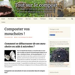 Composter vos mouchoirs !