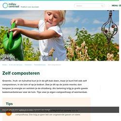 Zelf composteren: composthoop of wormenbak - MilieuCentraal