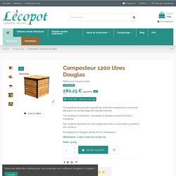 Composteur 1200 litres Douglas LECOPOT
