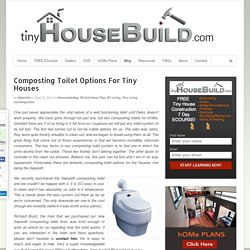 Composting Toilet For Tiny Houses