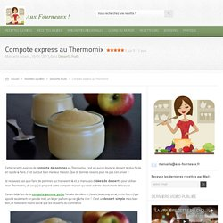 Compote express au Thermomix