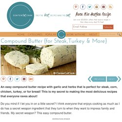 Compound Butter {for Steak,Turkey & More} Recipe