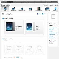 Compra el iPad Air. Envio y grabado gratis - Apple Store (España)
