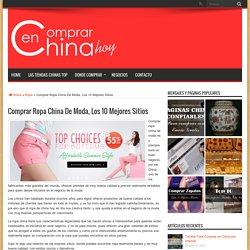 Comprar Ropa China De Moda, Los 10 Mejores Sitios