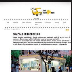 Comprar food truck en España