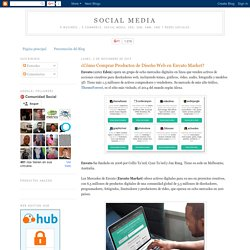 ¿Cómo Comprar Productos de Diseño Web en Envato Market?