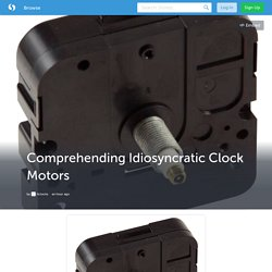 Comprehending Idiosyncratic Clock Motors (with image) · itclocks