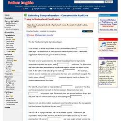 English Listening Comprehension Exercises - Ejercicios de comprensi n auditiva de ingl s - Para aprender o practicar ingl s