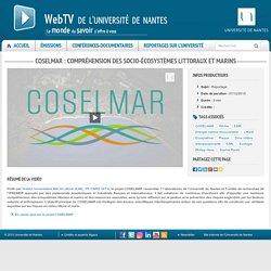 COSELMAR : compréhension des socio-écosystèmes littoraux et marins