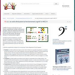 Compréhension et AdaptationL'évaluation du fonctionnement cognitif: le WISC IV
