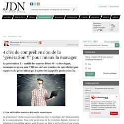 """4 clés de compréhension de la """"génération Y"""" pour mieux la manager - JDN"""