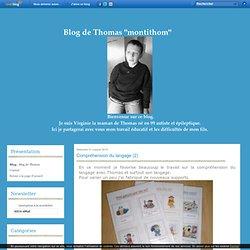 Compréhension du langage (2) - Blog de Thomas