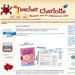 Teacher Charlotte: Stratégies de compréhension de lecture: MODULE 1 de Mini-Lectorino&Lectorinette : Ma maitresse est une ogresse!