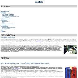 Compréhension de l'oral en anglais