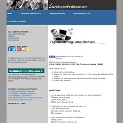 Oral comprehension skills (free practice quiz) - Exercise 9 - E-learning