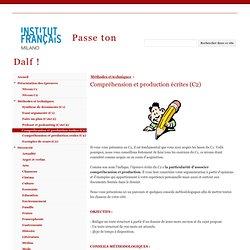 Compréhension et production écrites (C2) - Passe ton Dalf !