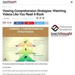 40 Viewing Comprehension Strategies