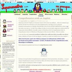Compréhension orale en Anglais - supermaitre