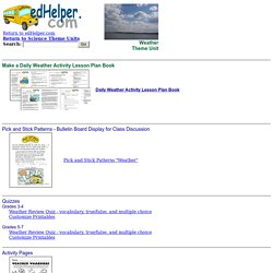 Weather Worksheets, Math Problems, Puzzles, and More!