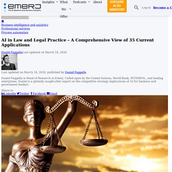 AI in Law and Legal Practice – A Comprehensive View of 35 Current Applications
