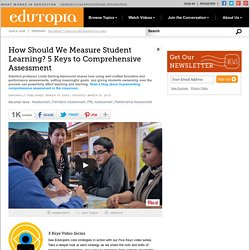 How Should We Measure Student Learning? The Many Forms of Assessment