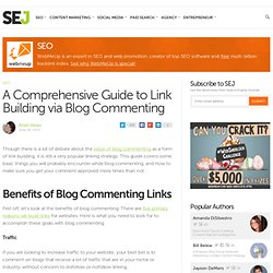 A Comprehensive Guide to Link Building via Blog Commenting