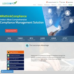 Enterprise compliance management solution