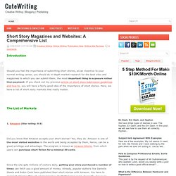 CuteWriting Publishing List