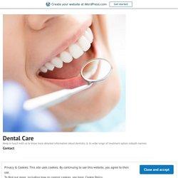 General Ideas Of Modern Comprehensive Dentistry