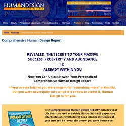 Comprehensive Human Design Report