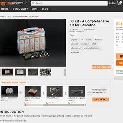D3 Kit - A Comprehensive Kit for Education - DFRobot