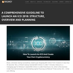 A Comprehensive Guideline to Launch an ICO 2018