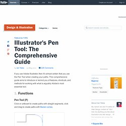 Illustrator's Pen Tool: The Comprehensive Guide
