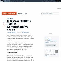 Illustrator's Blend Tool: A Comprehensive Guide