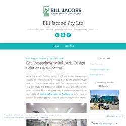 Get Comprehensive Industrial Design Solutions in Melbourne