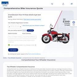 Comprehensive Two Wheeler Insurance