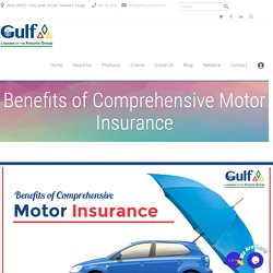 Benefits of Comprehensive Motor Insurance - Best Insurance Company Trinidad & Tobago - Gulf Insurance Limited
