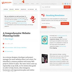 A Comprehensive Website Planning Guide - Smashing Magazine