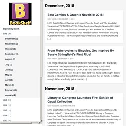 Monthly Diamond BookShelf e-Newsletter featuring comprehensive information on the latest graphic novels, interviews with creators and professionals like you, along with useful tools such as reviews, bestsellers and more.
