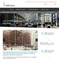 Comprehensive fact sheet about Willis Tower