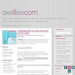Comprendre le Link juice (ou jus de lien) - Blog de l'agence Axellescom