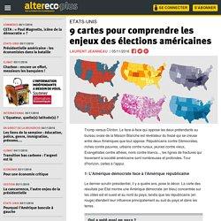 9 cartes pour comprendre les enjeux des élections américaines