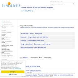Comprendre les médias - éducation aux médias - Apprendre le français avec les médias